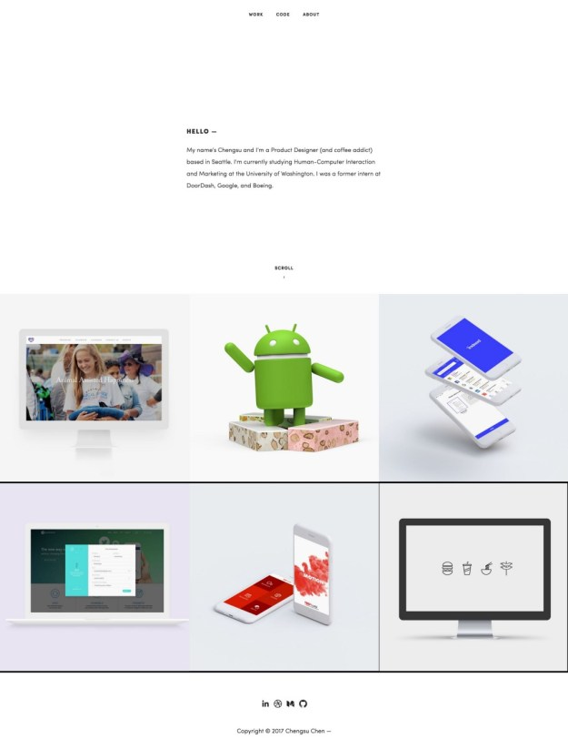 1*xzYDIZzxFvVyvqnLvZyrZw 5 great design portfolios from students who are hired by Google and Facebook Design Random