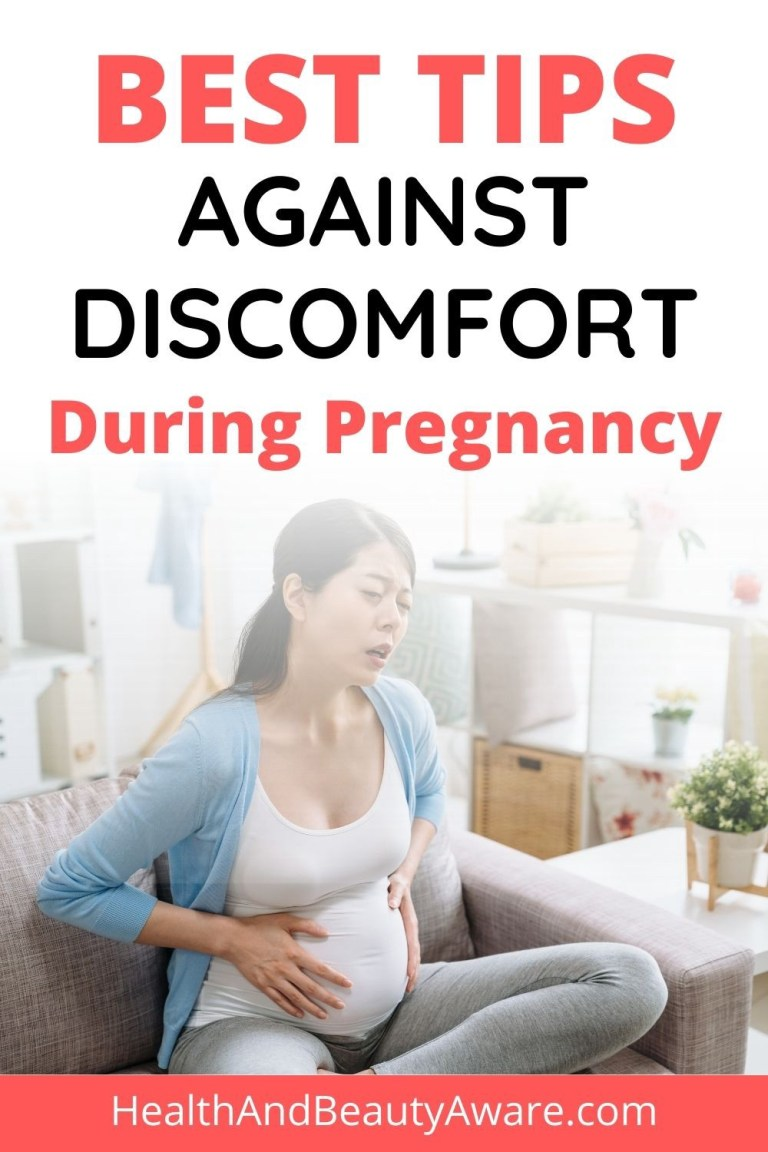 Best Tips Against Discomfort During Pregnancy