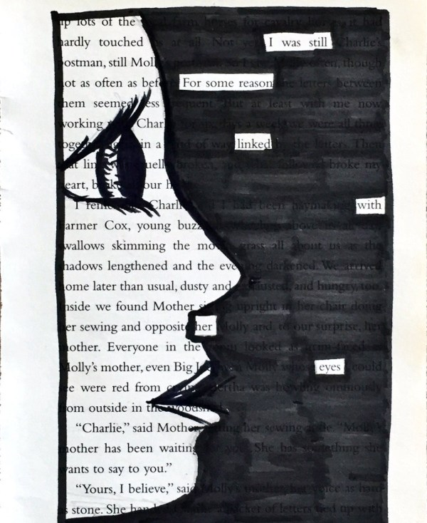 Poet Experiment With Blackout Poetry