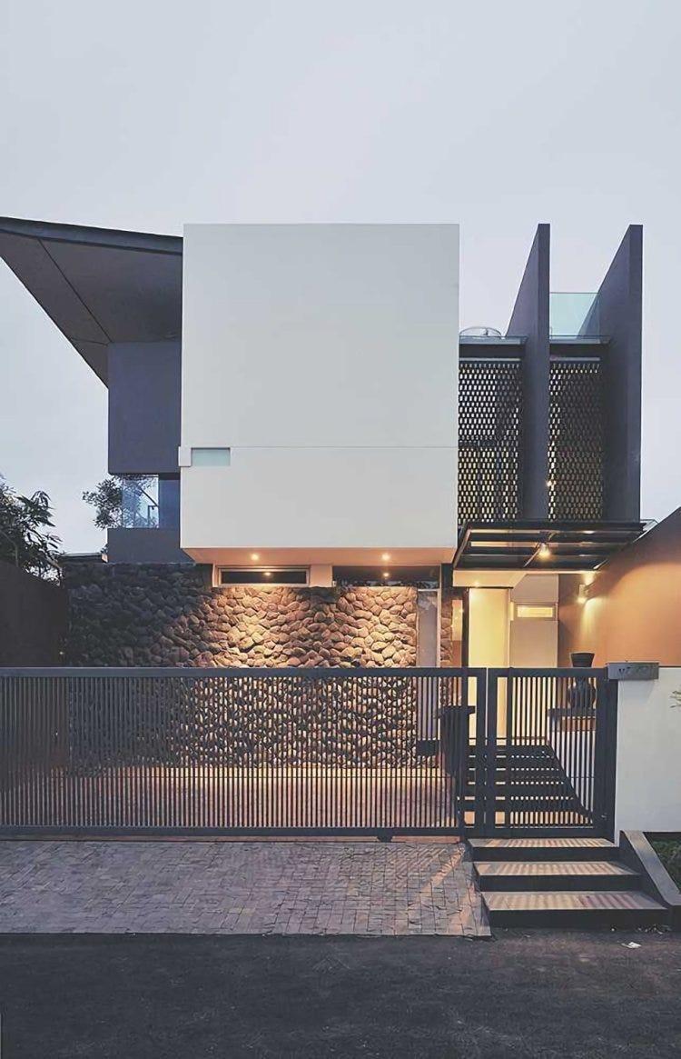 Desain Pagar Rumah Minimalis Sederhana Namun Menawan