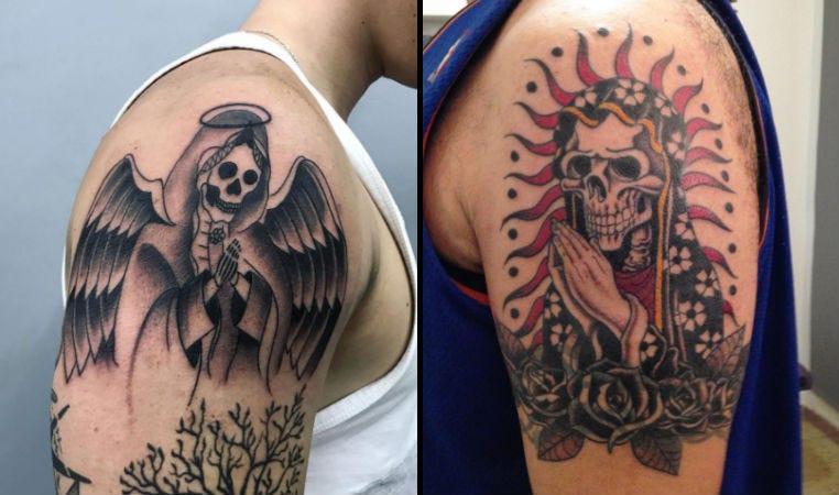 La Santa Muerte Tattoo Images