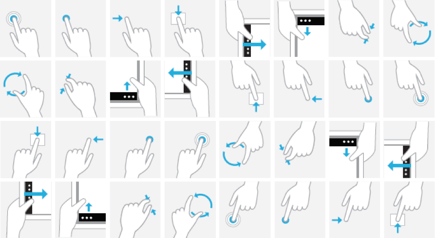 Prototyping swipe and drag gestures with Framer 3