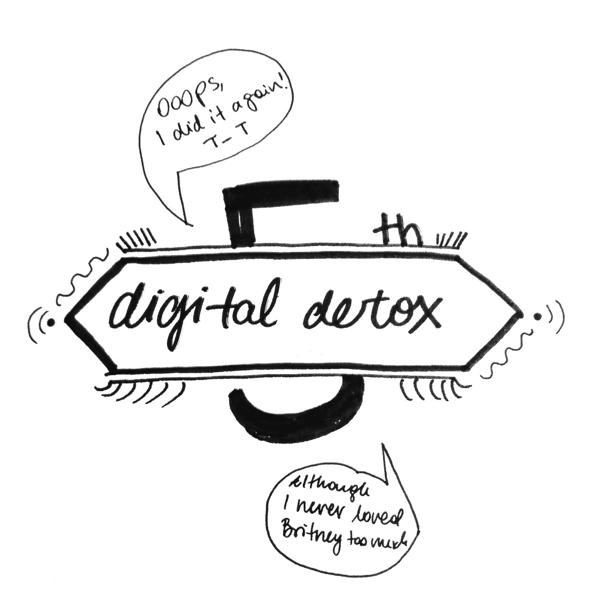 My 5th digital detox