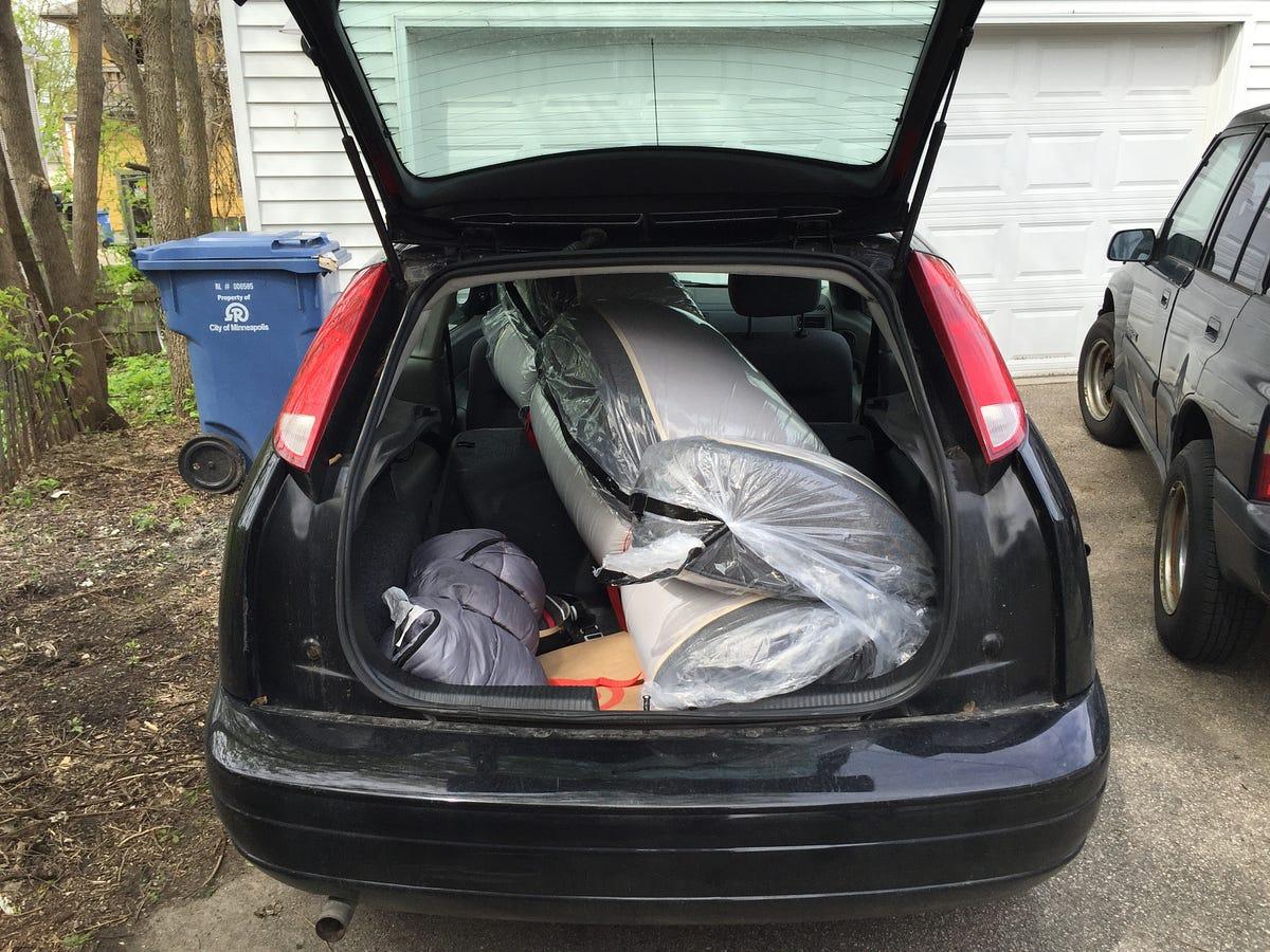 Moving A Casper Foam Mattress In A Small Car Sam Brannon