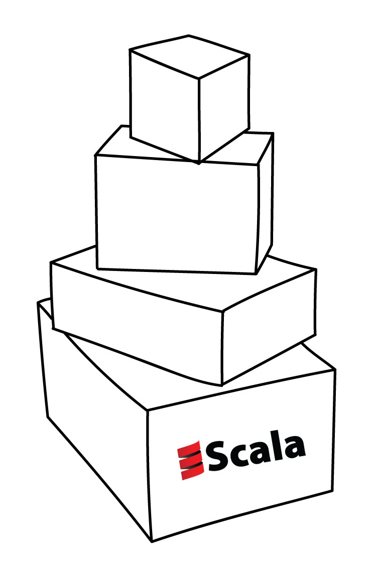 Simple Scala Stack