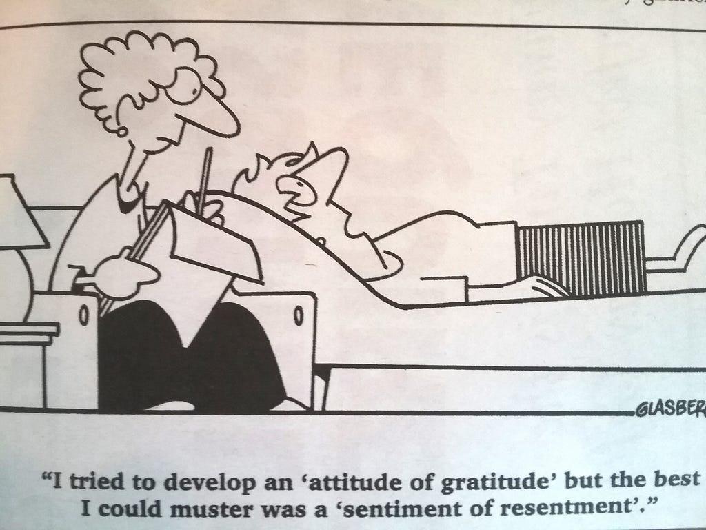 Attitude Of Gratitude Challenge Day 1