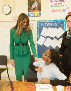 First lady melania trump visits students at excel academy  charter school in washington     ward april also why you should care about the outside money pouring into rh medium