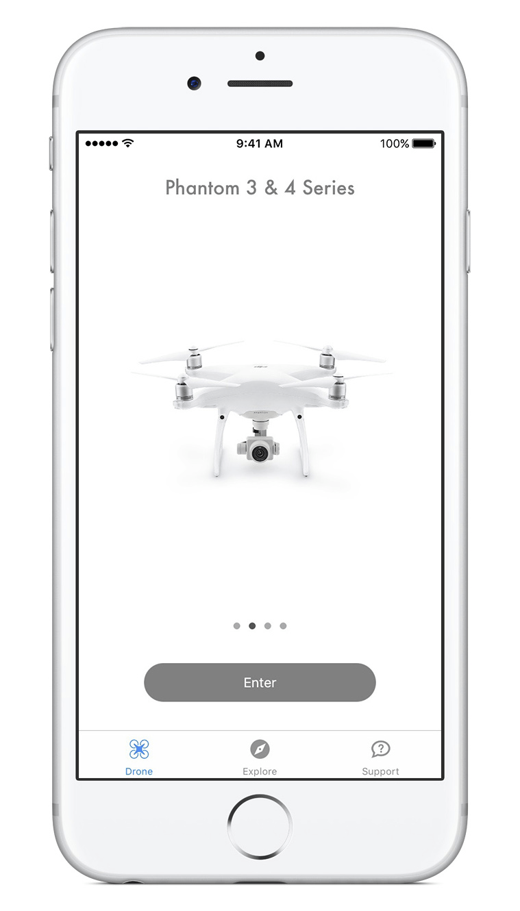 Altizure App iOS is now supporting DJI Phantom 4 Pro.