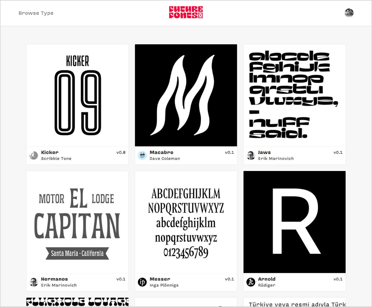 Introducing Future Fonts – Future Fonts
