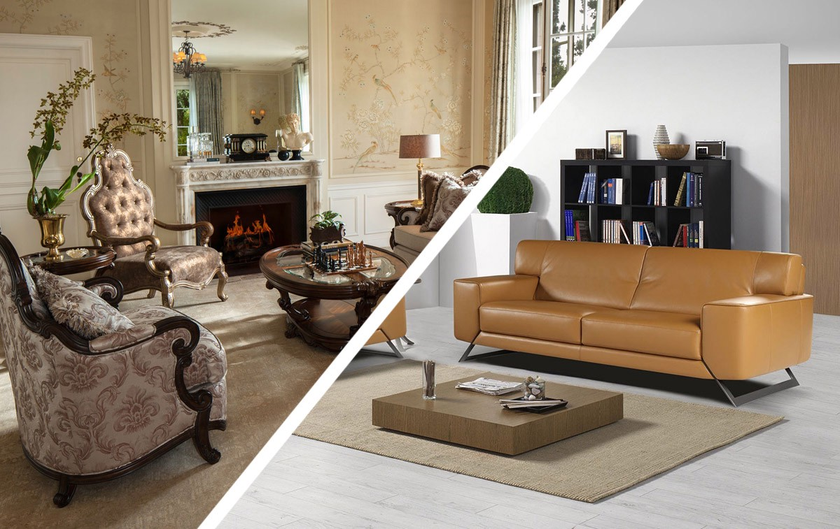Sofa  Traditional vs Modern  BA Sofas  Medium