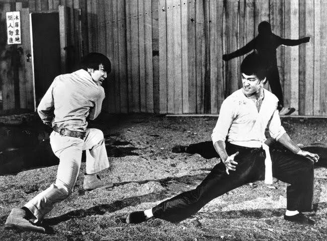 Bruce Lee e Krishnamurti  O Drago e o Messias aposentado