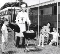 You can thank American GIs for your backyard grill  Timeline