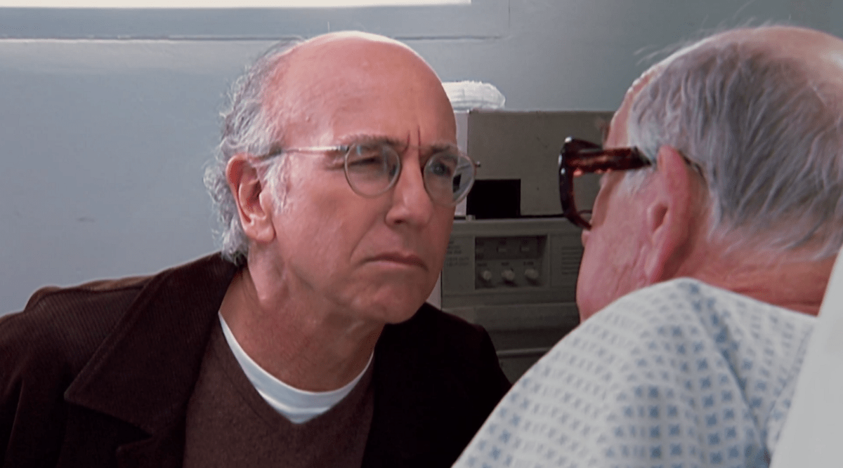 Are You Sure  The 9 Best Larry David StareDowns  9
