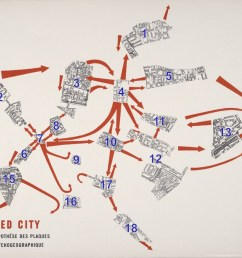 a popular example of psychogeography is guy debord s the naked city 1957 it s a subversive remapping of paris on the basis of a mobile architecture of  [ 1200 x 882 Pixel ]