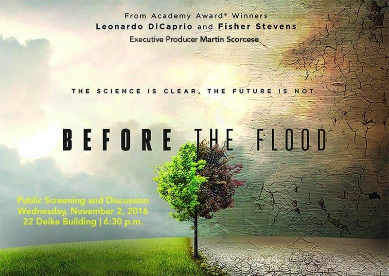 【洪水來臨前Before The Flood】2016 – 楚天闊 – Medium