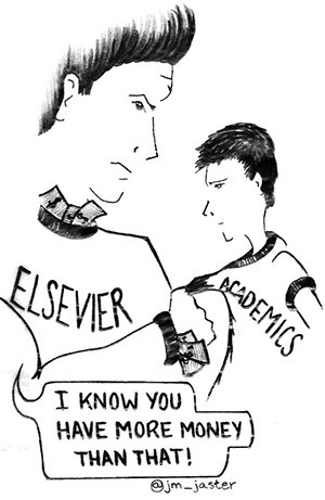 Can't Disrupt This: Elsevier and the 25.2 Billion Dollar A