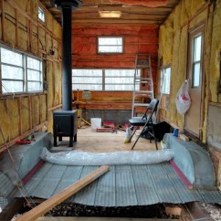 How Much Does Kitchen Remodel Cost Aid Toaster Oven Convert Travel Trailer To Off-grid Tiny Home For $3000 ...