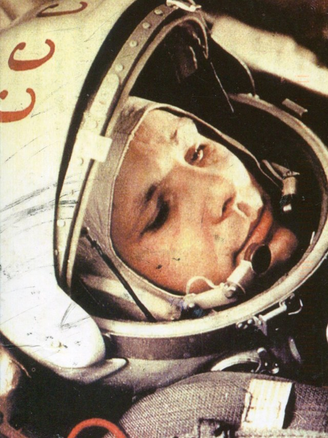 Was Yuri Gagarin really the first man in space? (credit: NASA)