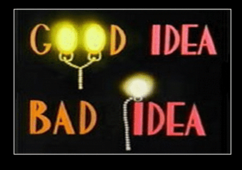 Image result for animaniacs good idea bad idea