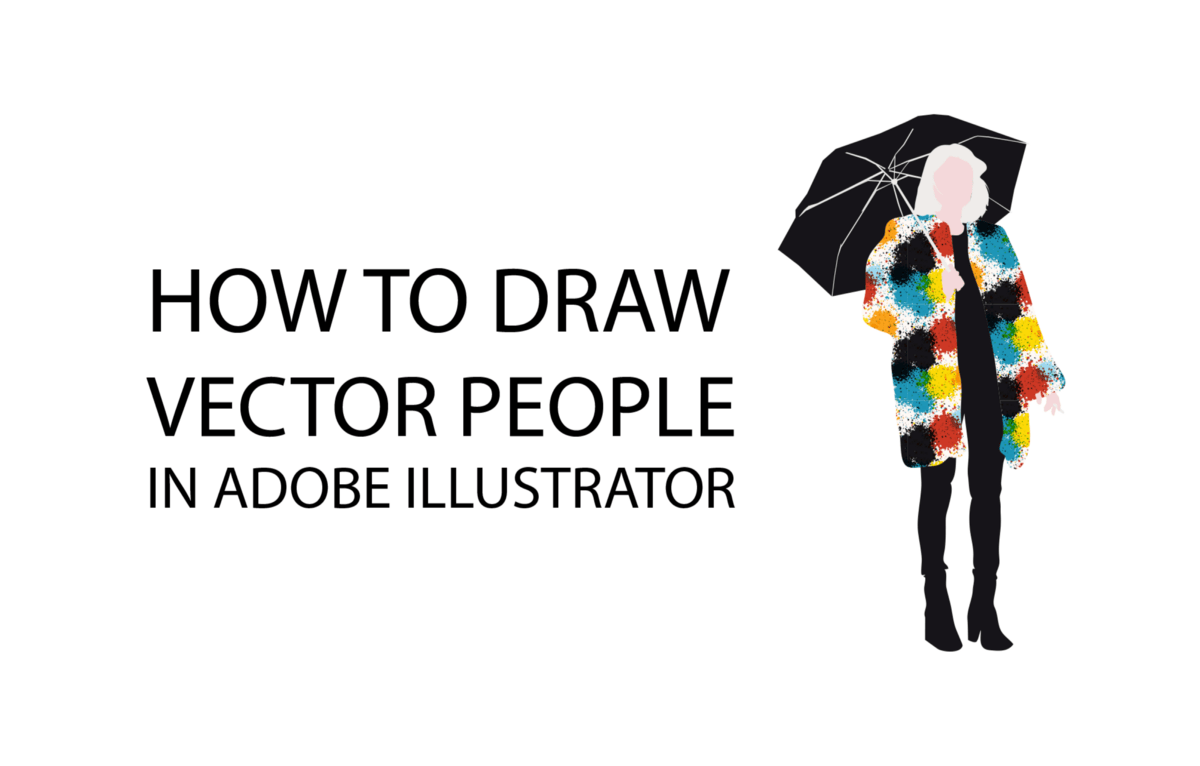 How to Draw Vector People in Adobe Illustrator