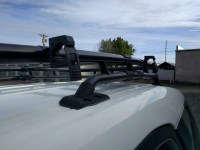 DIY FJ Cruiser Roof Rack Axe, Shovel and Tool Mount