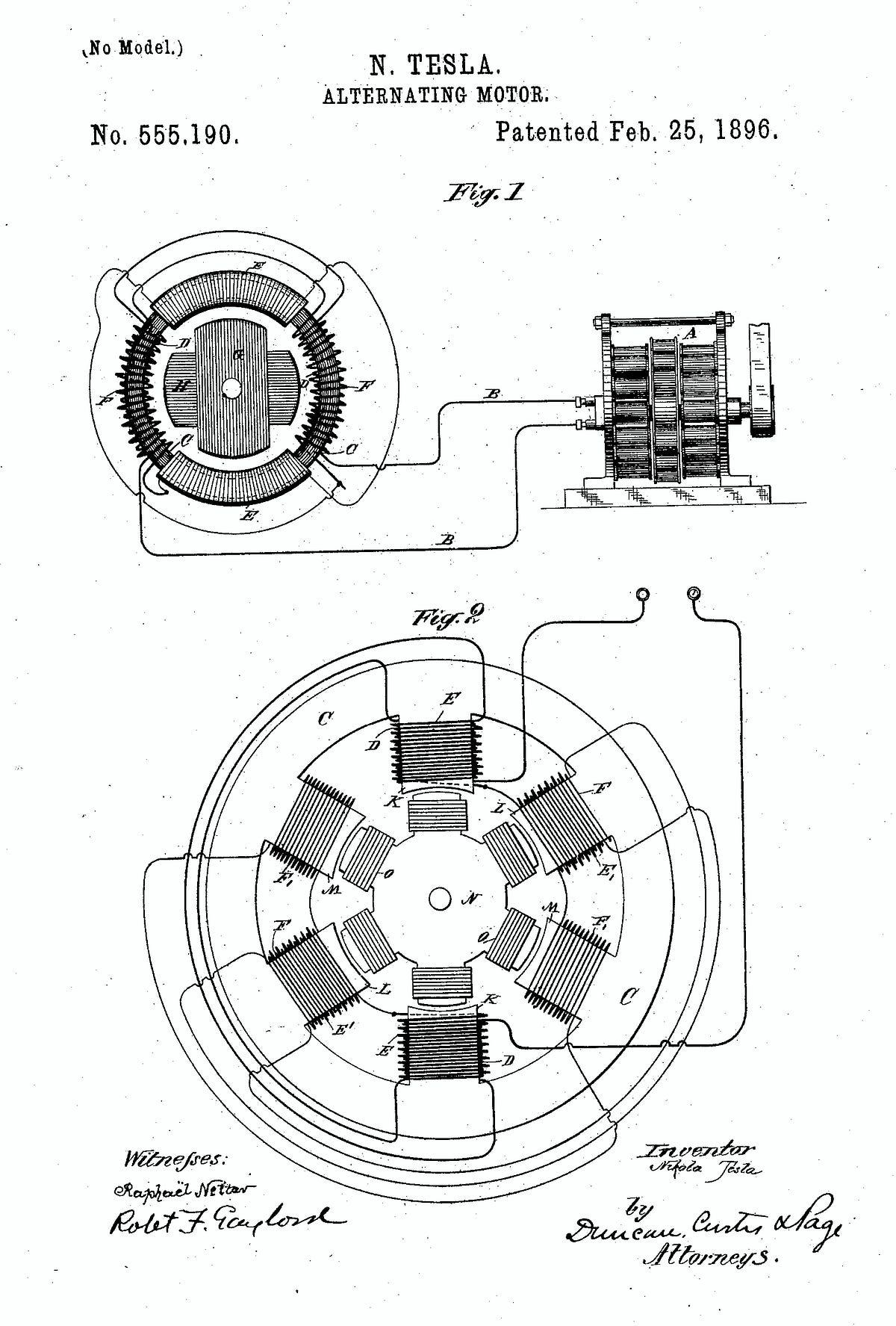 Tesla Ac Induction Motor Specs