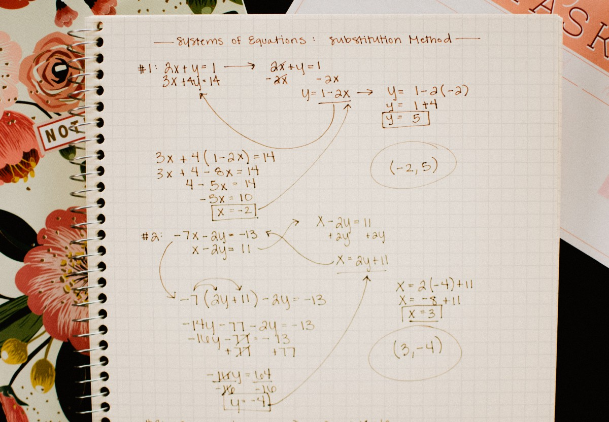 Beginner S Guide To Solving Systems Of Equations Math