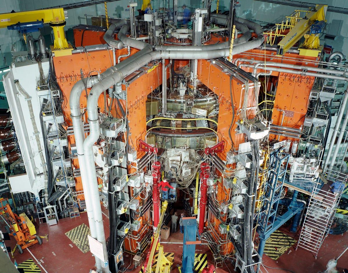 Nuclear Fusion Reactor Diagram Design Of Fusion Reactor
