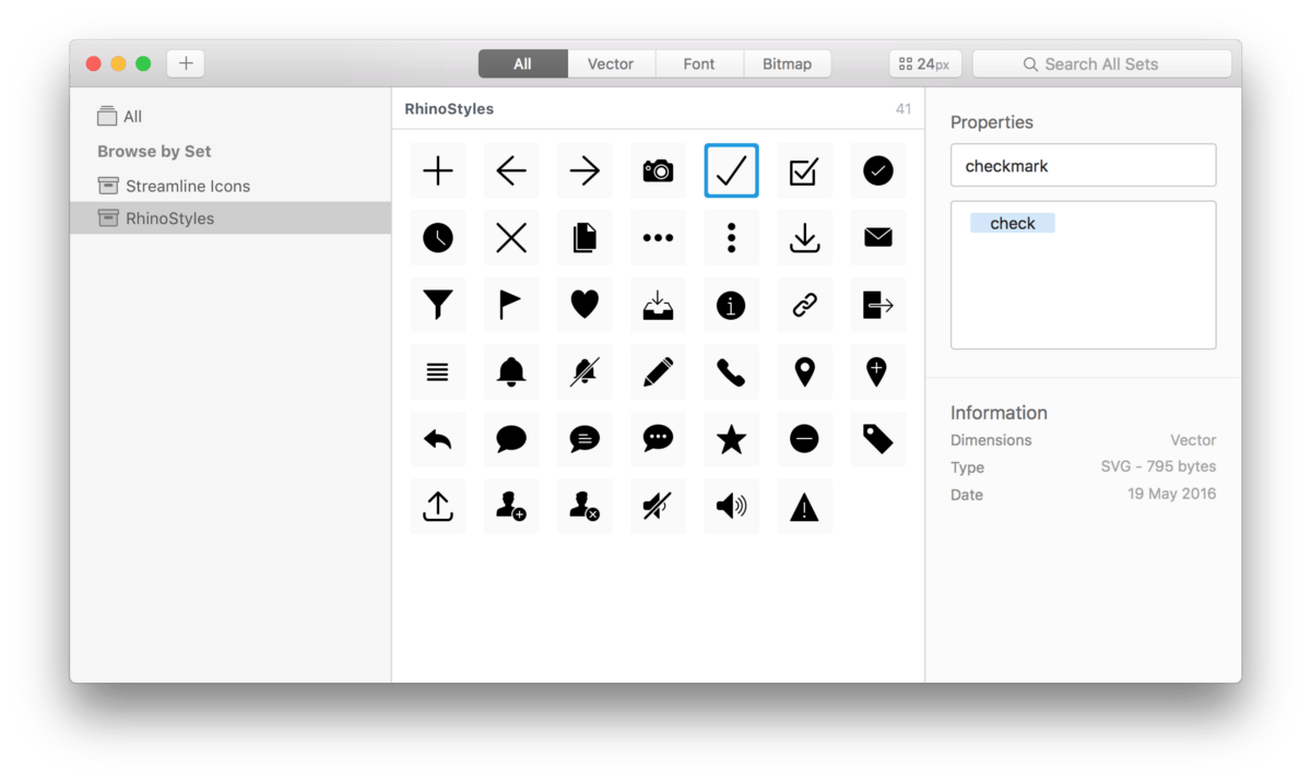 From Sketch to Finish: SVG Icons