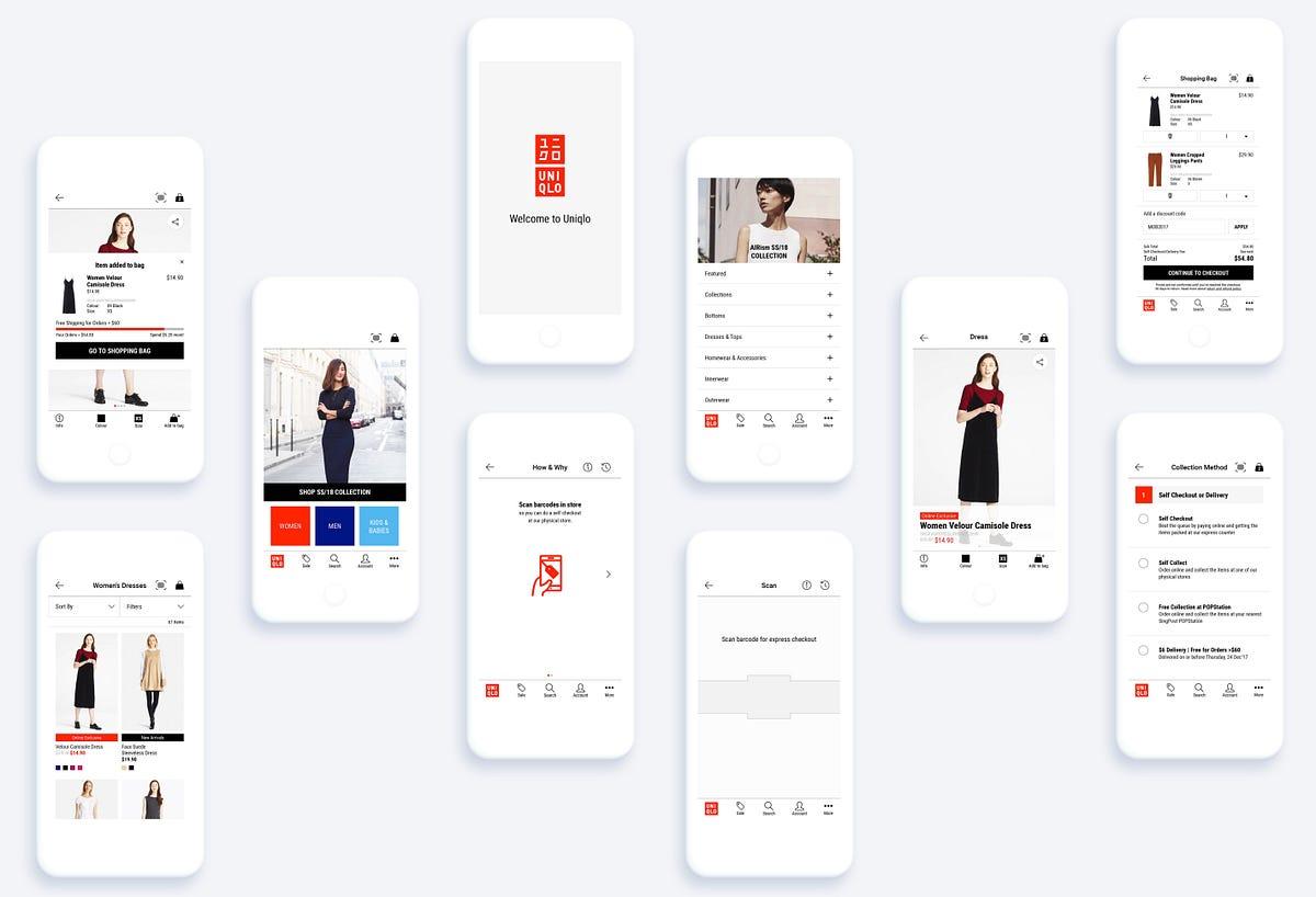 Redesigning Uniqlo App with Service Design