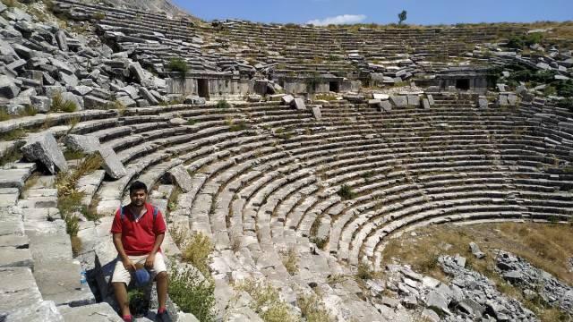 sagalassos antik kenti tiyatro