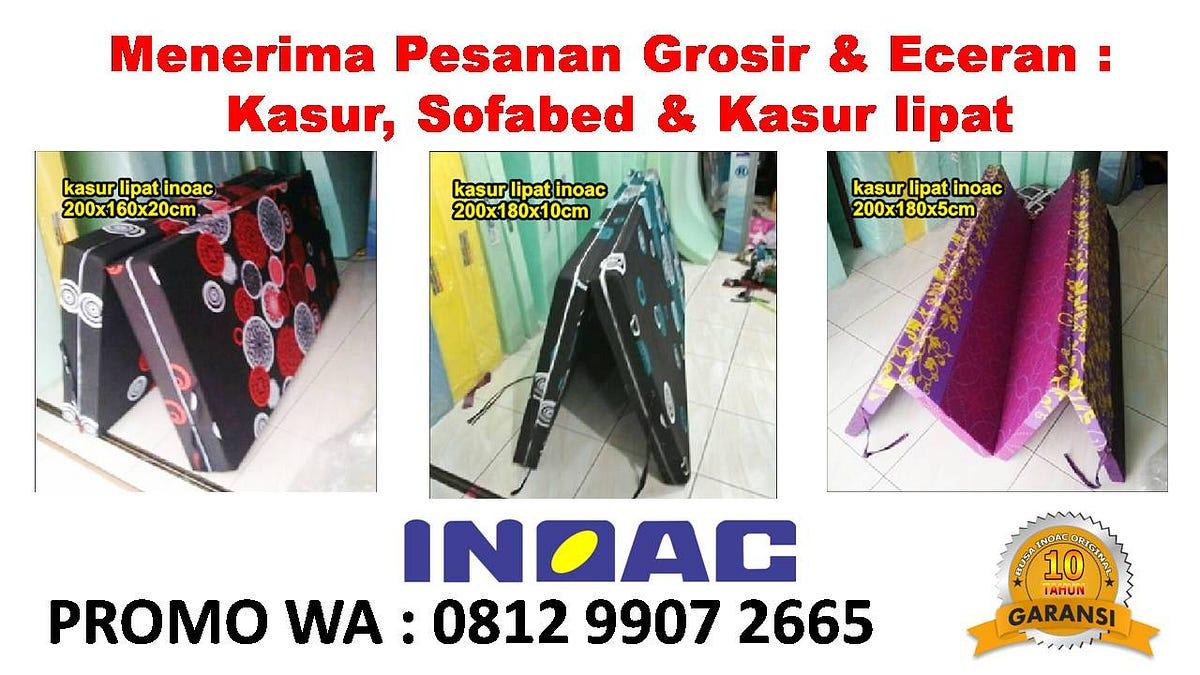sofa bed kasur busa lipat inoac jakarta rooms to go sofas and sectionals promo wa 0812 9907 2665 toko cirebon