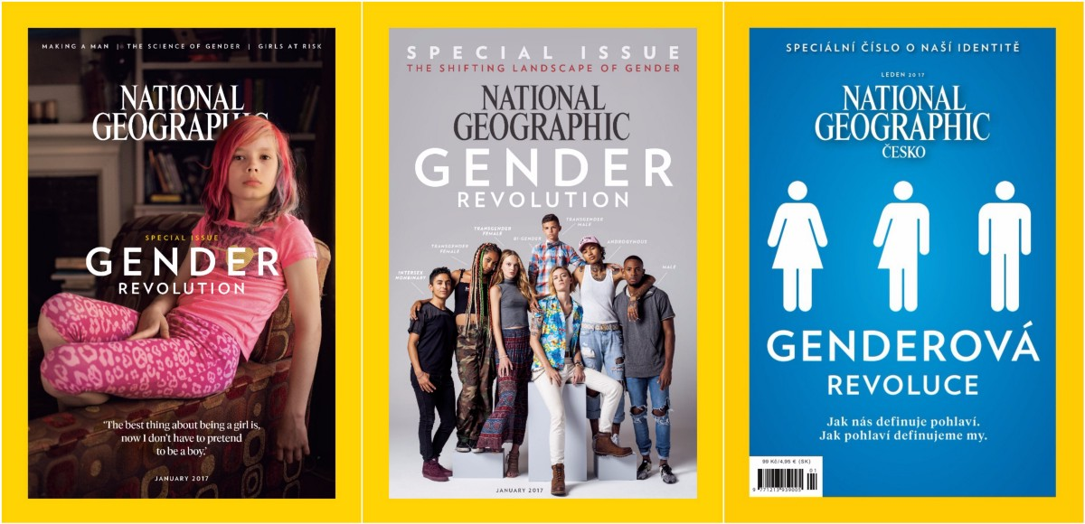 The Czech Edition of National Geographics Gender