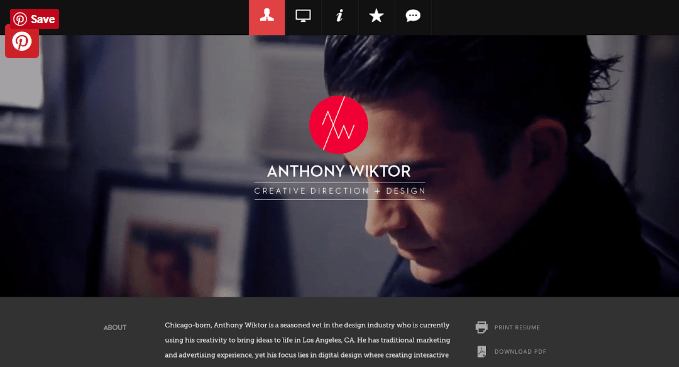 10 Steps To The Perfect Portfolio Website, plus 40 examples!