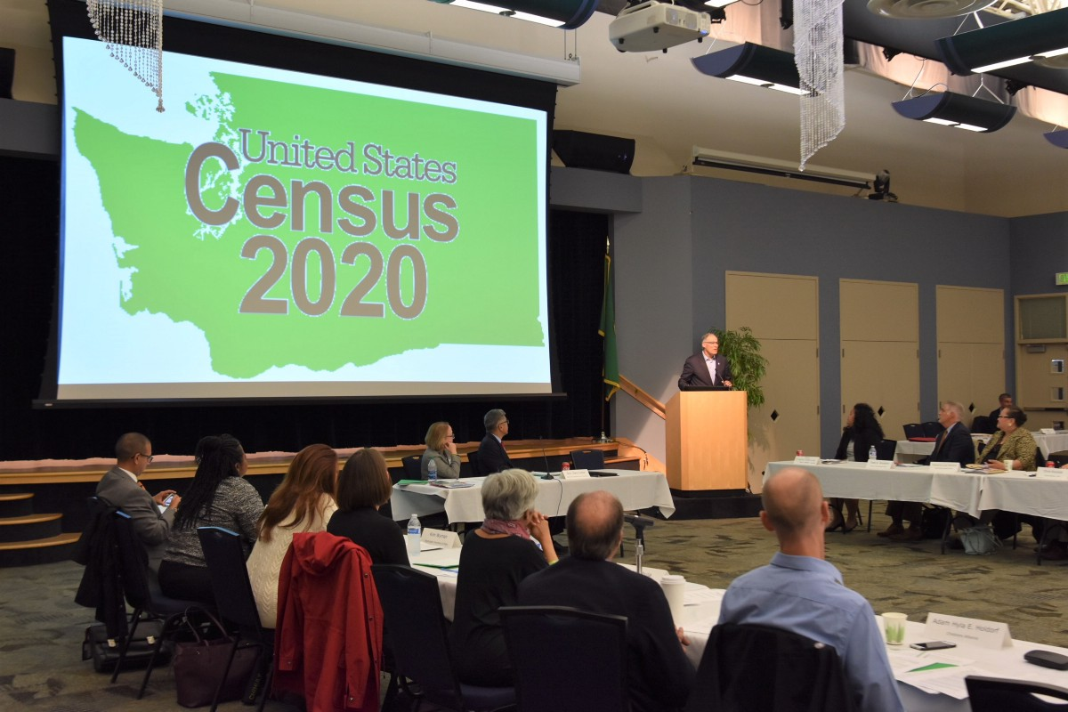 Inslee launches Complete Count 2020 census committee