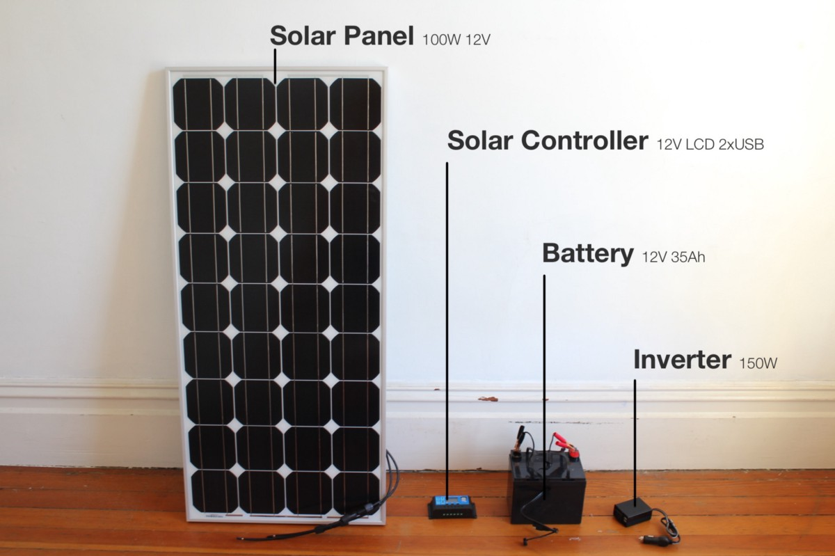 hight resolution of i ordered the system on july 2nd and with ground shipping the pv panel 95 arrived july 11th from canada and the battery 66 wiring 18