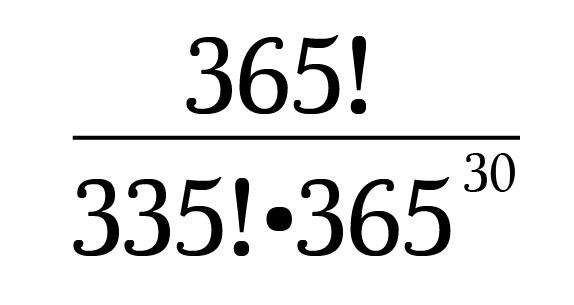 The Birthday Problem🎈 – Math Hacks
