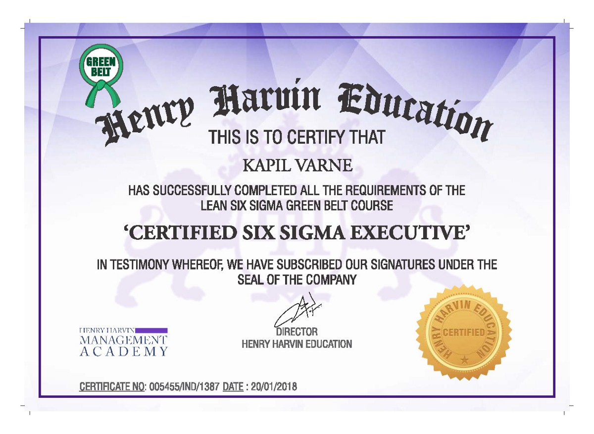 Six Sigma Approach To Problem Solving Six Sigma
