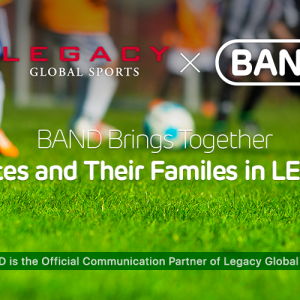 LEGACY Sports Announces Group Communication Partnership with BAND
