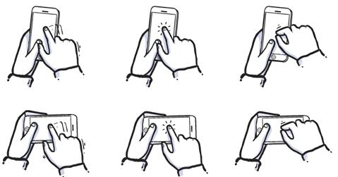 How To Communicate Hidden Gestures in Mobile App