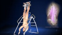 Hanging Upside Down on Inversion Table for Good Health!