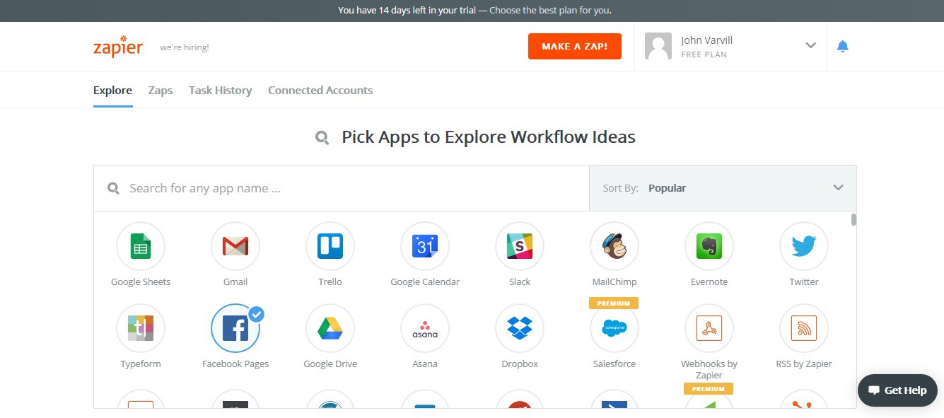 Creating Spreadsheets Using Zapier — And Sending Them To Datadeck