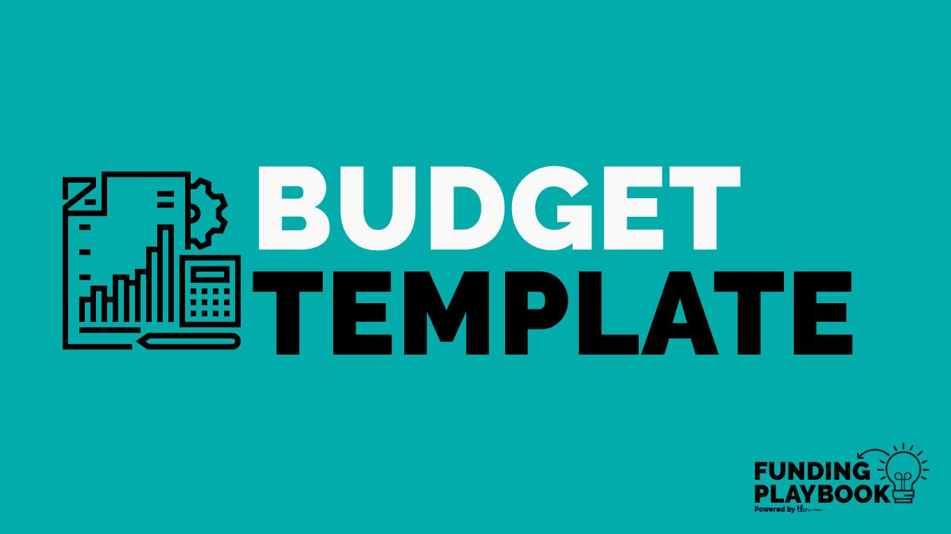 B2B Budget Template – TLV Partners – Medium