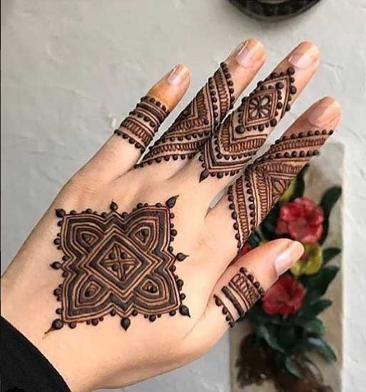 Mehandi Designs Photos 2018