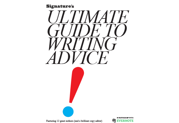 "Presenting ""The Ultimate Guide to Writing Advice"""