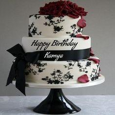 Birthday Cake With Names And Photo Kanpur Cakes Medium