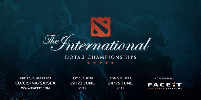 FACEIT Presents Dota2 The International 2017 Open