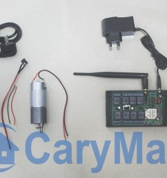 here is the wiring diagram and picture motor is connected to common terminal b and normally open terminal c is connected to positive wire  [ 1200 x 675 Pixel ]