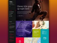 Web design inspiration | #1095  From up North