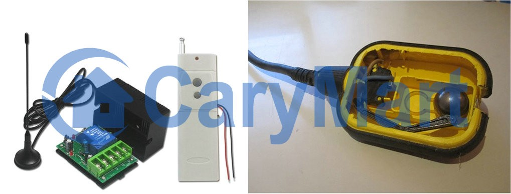 Normally Open/ Closed Remote Controlled Float Switch